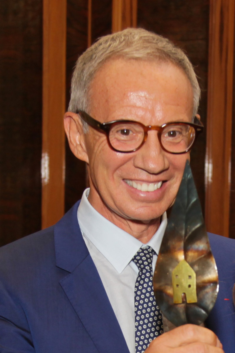 Sylvain Bellenger Premio Speciale GreenCare 2017