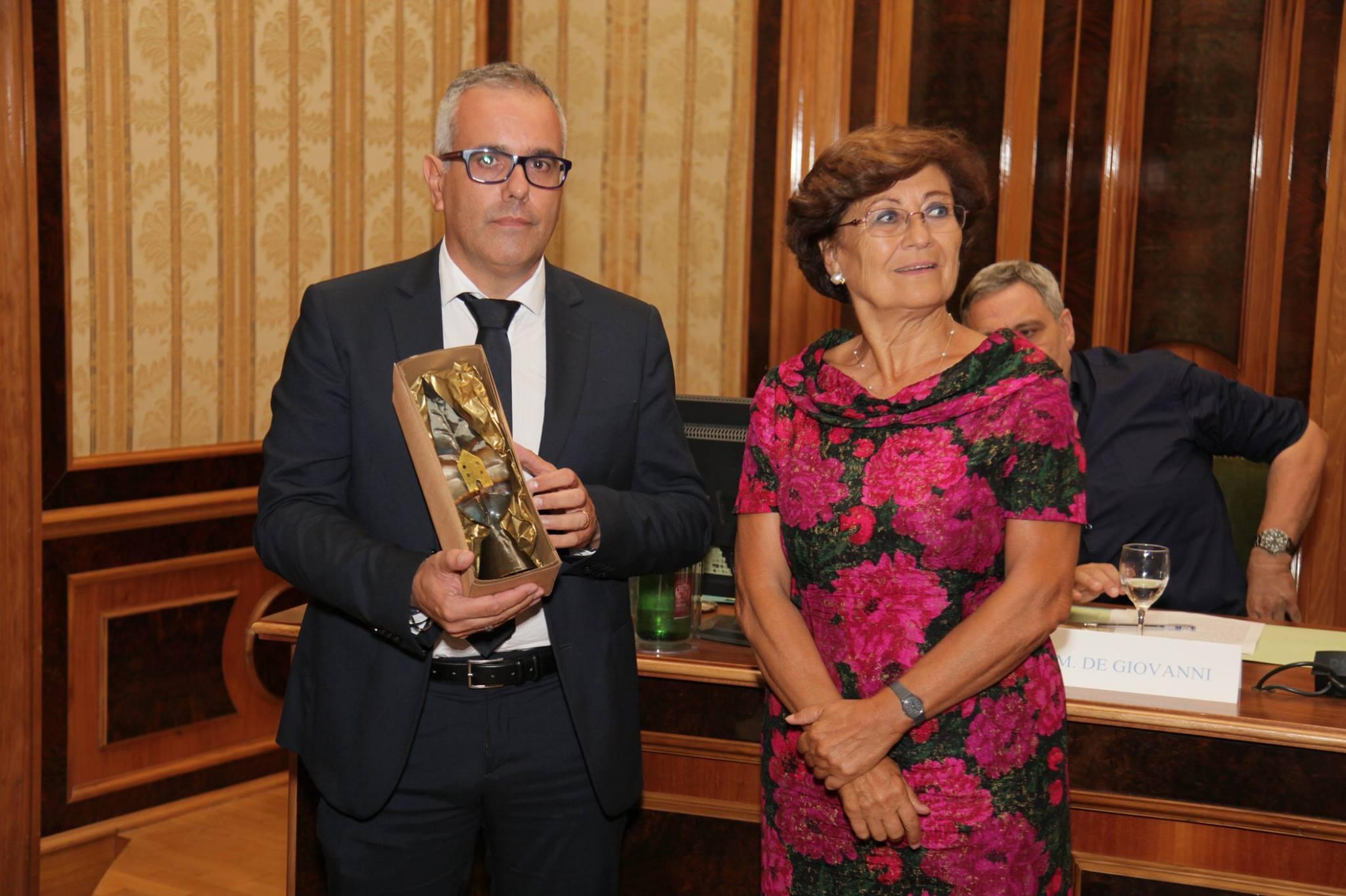 Roberto Maddaluno e Alberta Campitelli