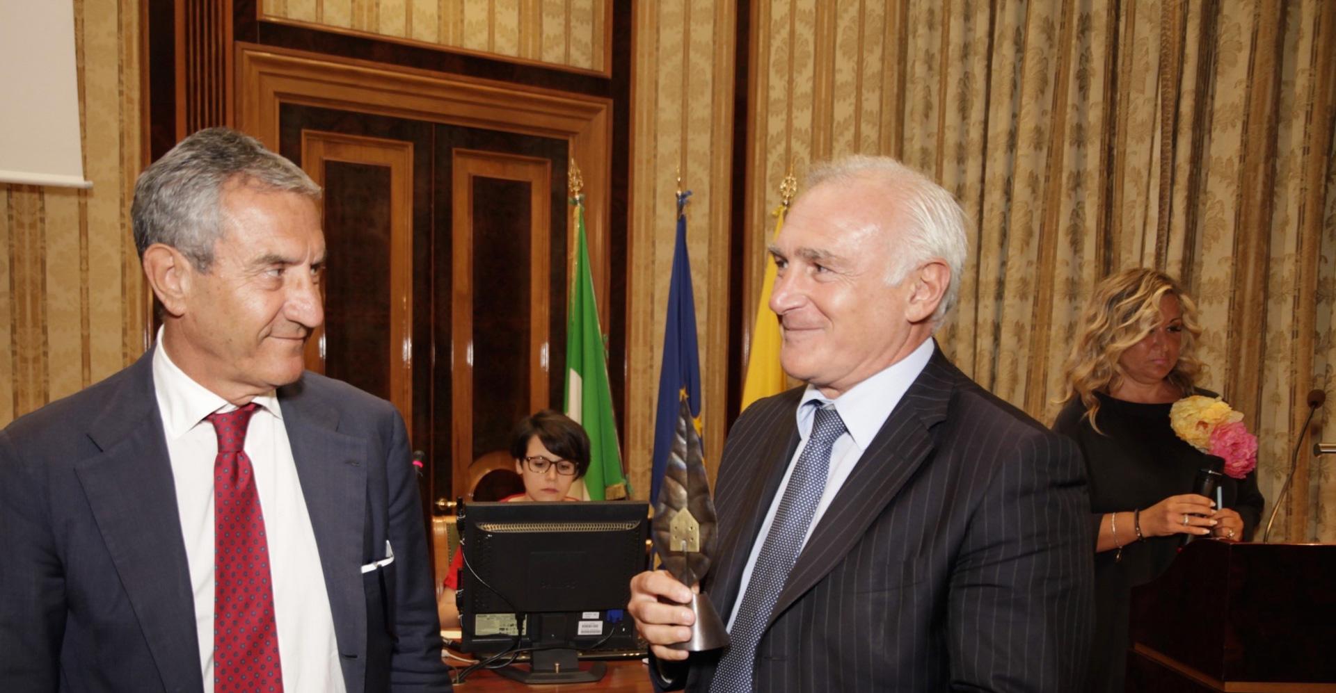 Ambrogio Prezioso e Alfredo Guarra, Premio Speciale GreenCare 2016