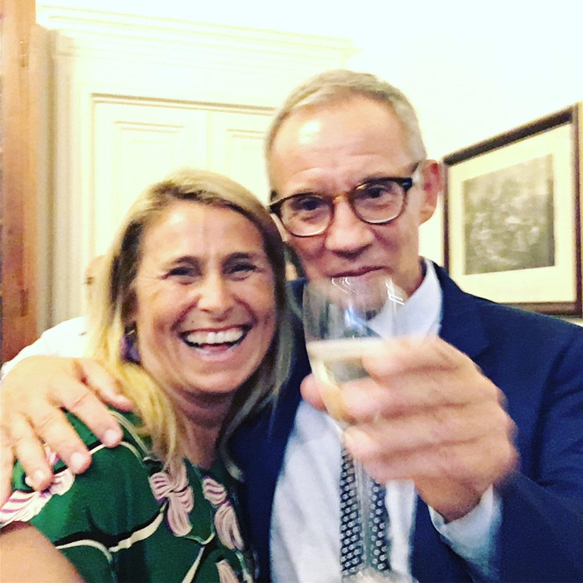 Benedetta De Falco e Sylvain Bellenger al Premio Speciale GreenCare 2017