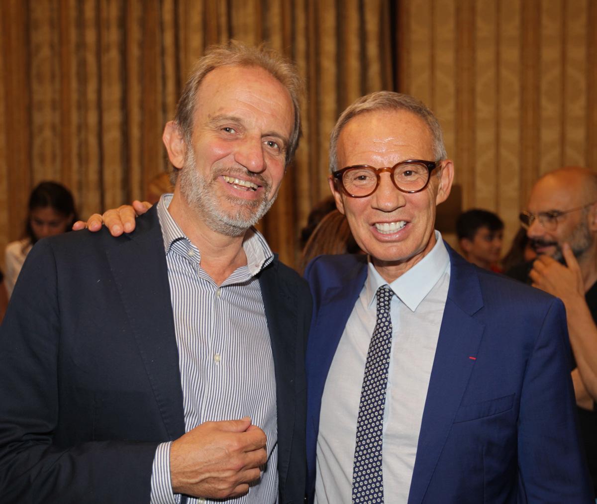 Riccardo Motti e Sylvain Bellenger al Premio Speciale GreenCare 2017