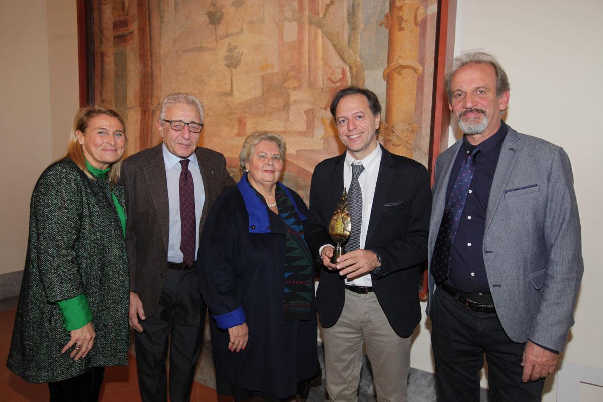 Benedetta de Falco, Gianni Russo, Maria Rosaria de Divitiis, Paolo Giulierini, Riccardo Motti