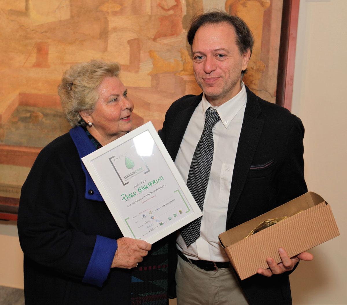 Maria Rosaria de Divitiis e Paolo Giulierini