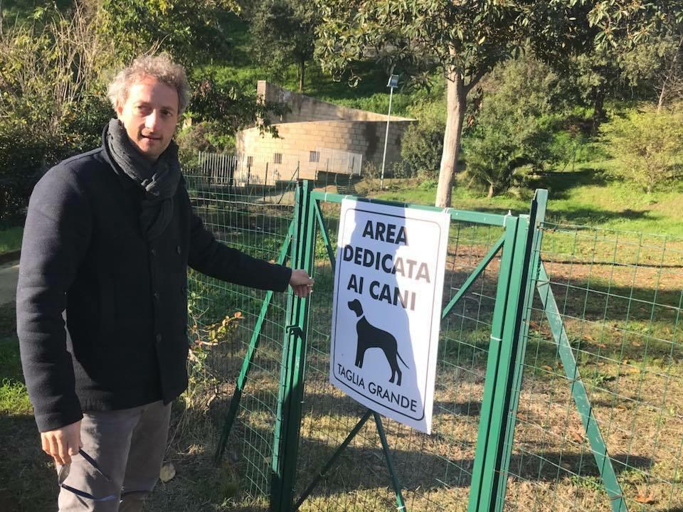 Parco Viviani: l'area dedicata ai cani