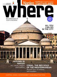 La cover di Where Naples di novembre 2017
