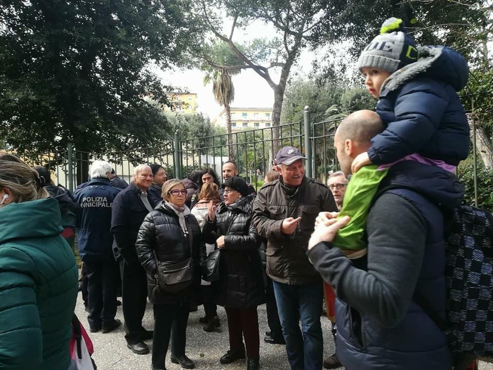 Protesta Parco Mascagna