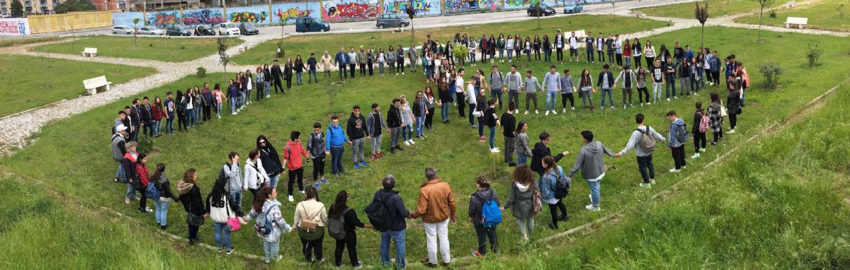 Progetto Pangea. Scambia. Premio GreenCare 2017.