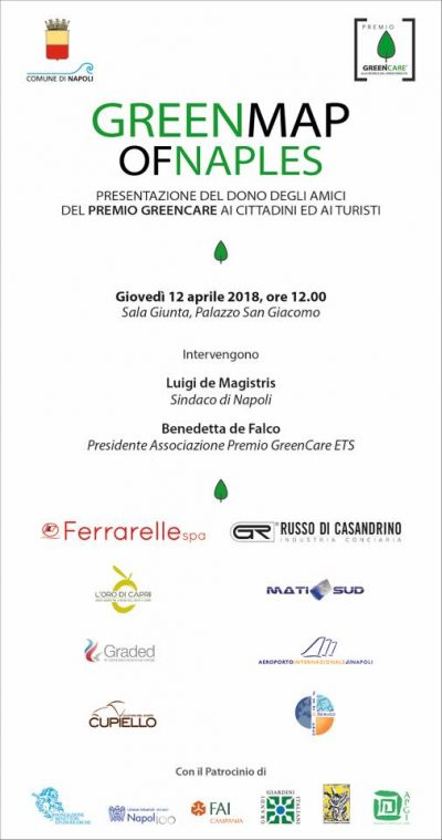 Green Map of Naples: l'Invito per Conferenza Stampa di presentazione