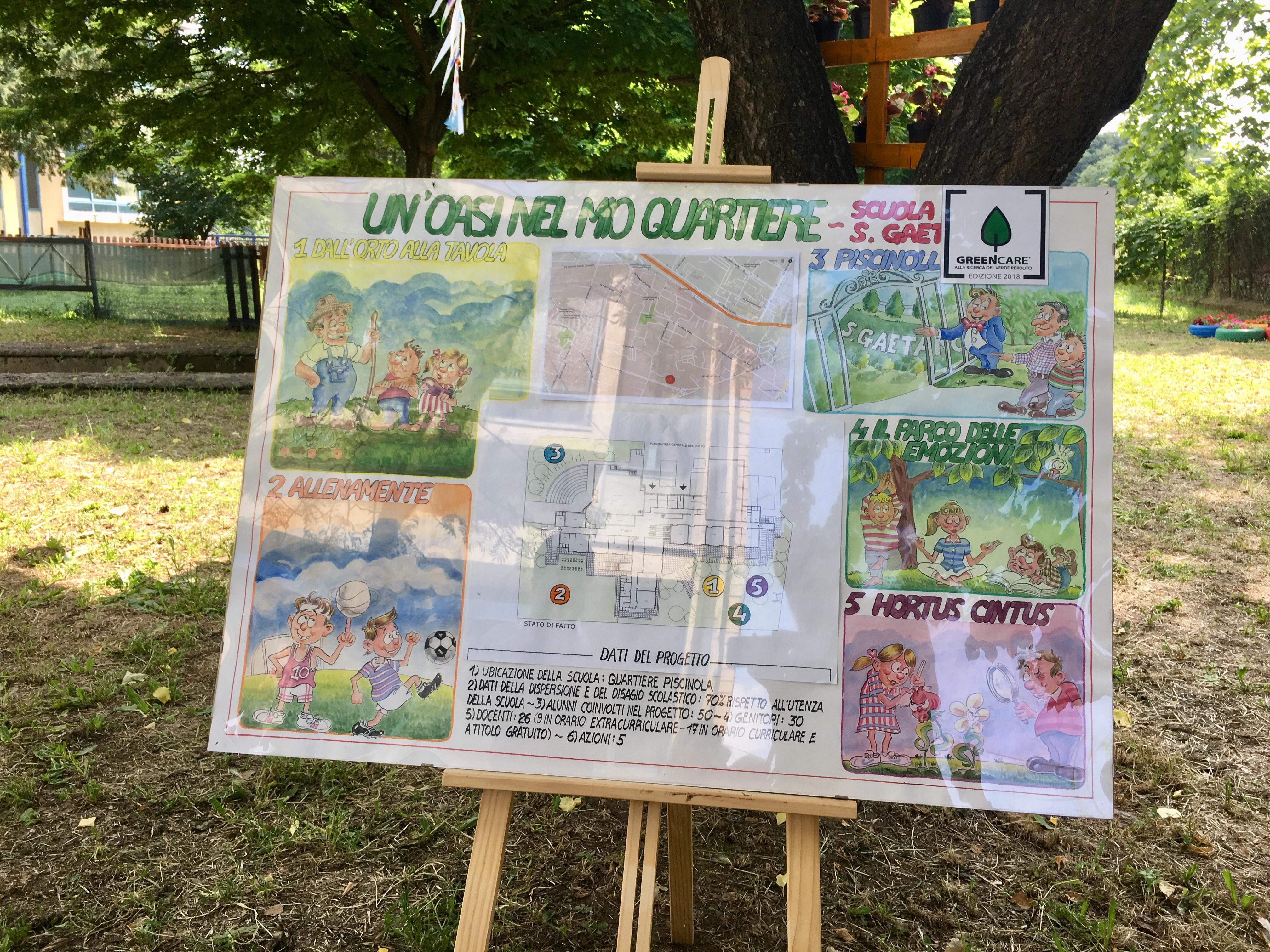 Le attività green del 43° Tasso - San Gaetano
