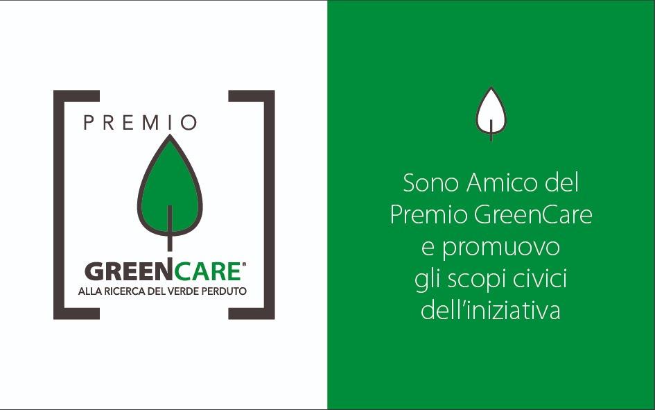 Sostieni il Premio GreenCare