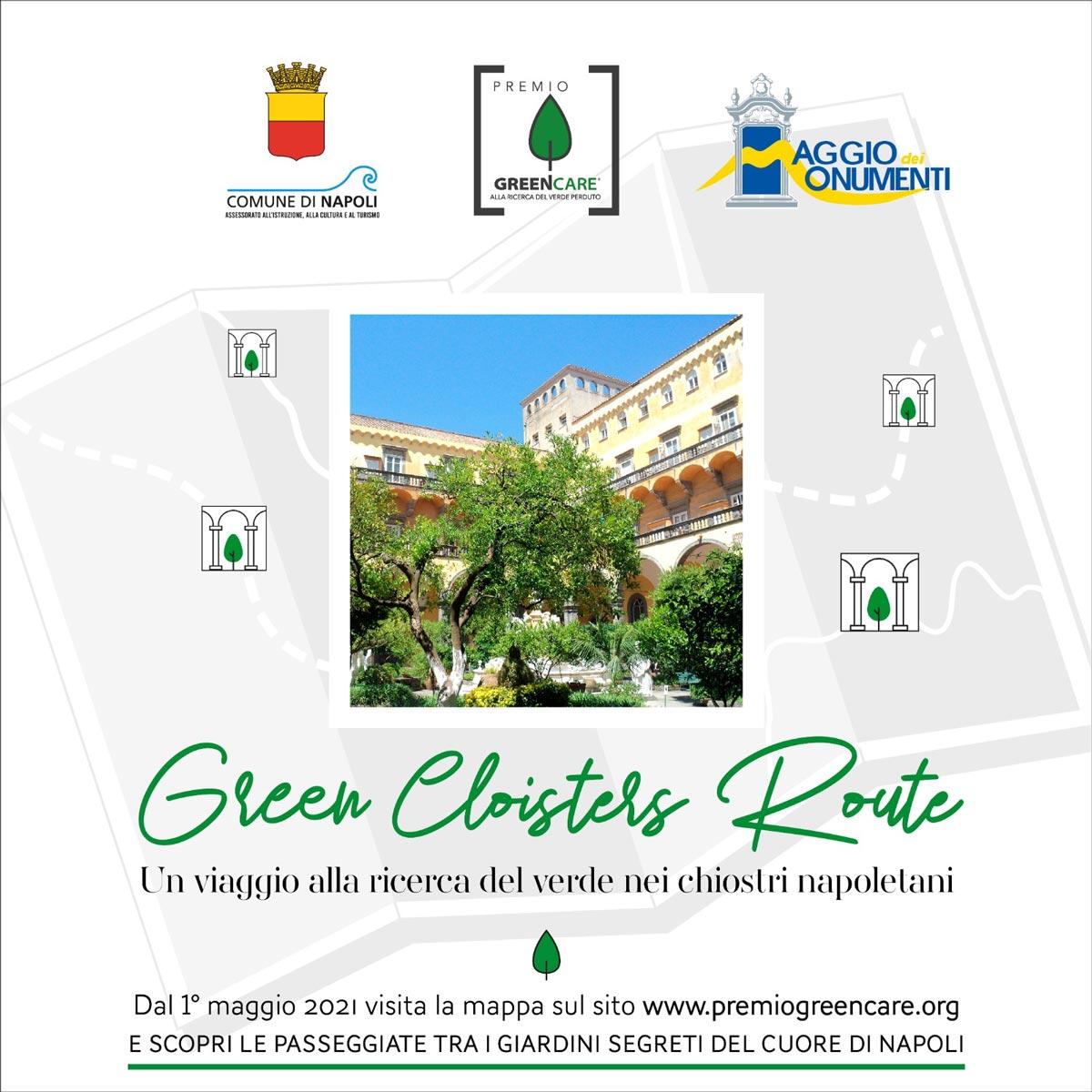 Green Cloisters Route - Un viaggio alla ricerca del verde nei chiostri napoletani